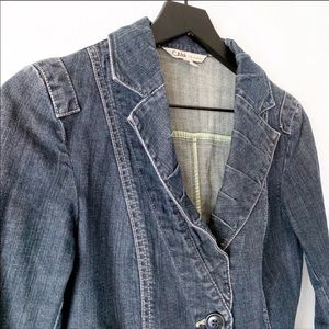 CAbi Jackets & Coats - Cabi   Fitted Denim Jean Jacket Style 860 S